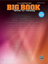The New Guitar Tab Big Book 90's to Today