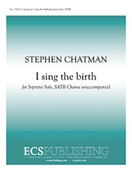 I Sing the Birth