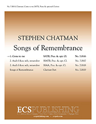 Songs of Remembrance Vol. 1 Come to Me