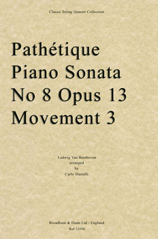 Pathetique Piano Sonata No. 8, Op. 13