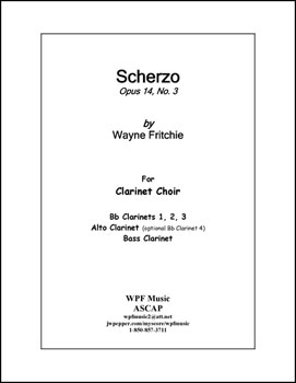 Scherzo Opus 14 No. 3