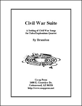 Civil War Suite for Tuba/Euphonium Quartet