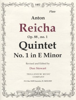 Quintet No. 1 in E minor, Op. 88