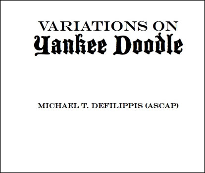 Variations on Yankee Doodle