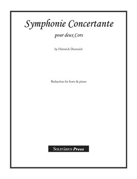 Symphonie Concertante for 2 Horns