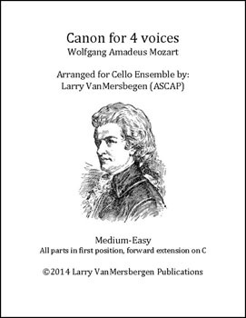 Canon for Four Voices, K232