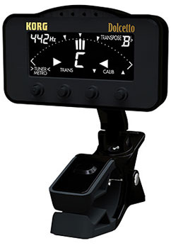 Korg Dolcetto Orchestral Clip-On Tuner/Metronome