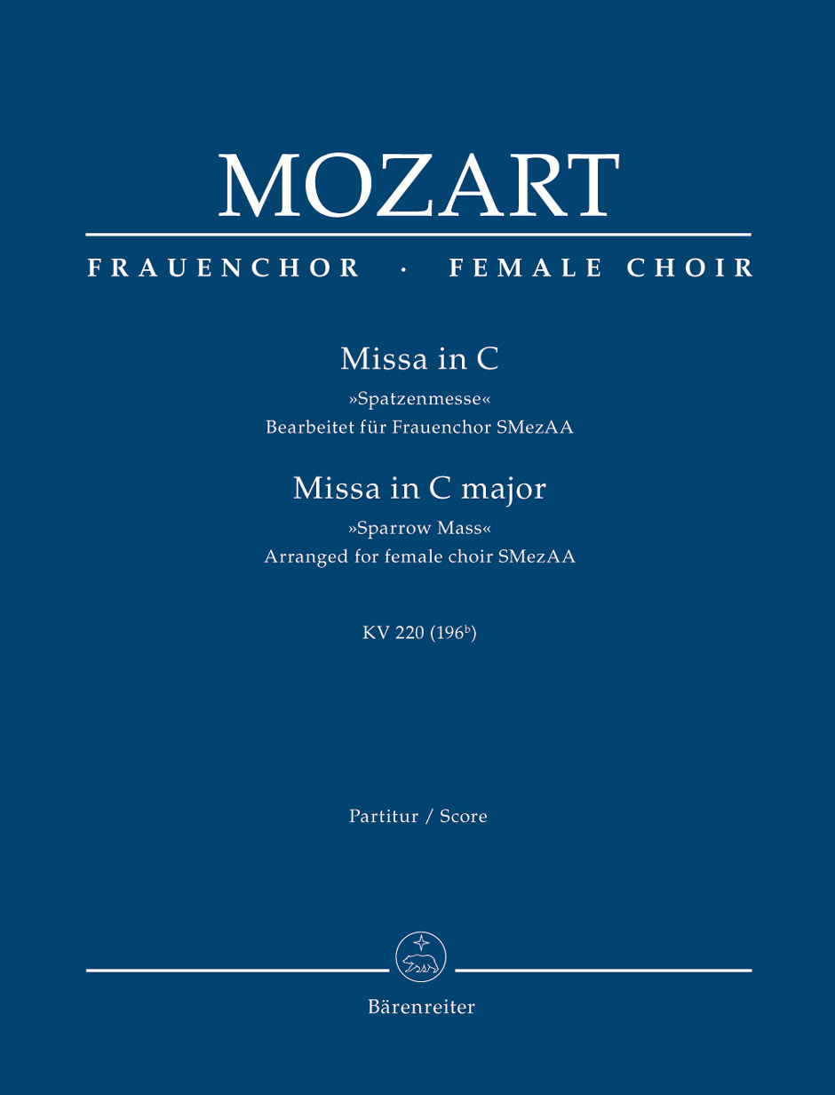 Missa in C Major, K. 220 (196b)