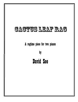 Cactus Leaf Rag