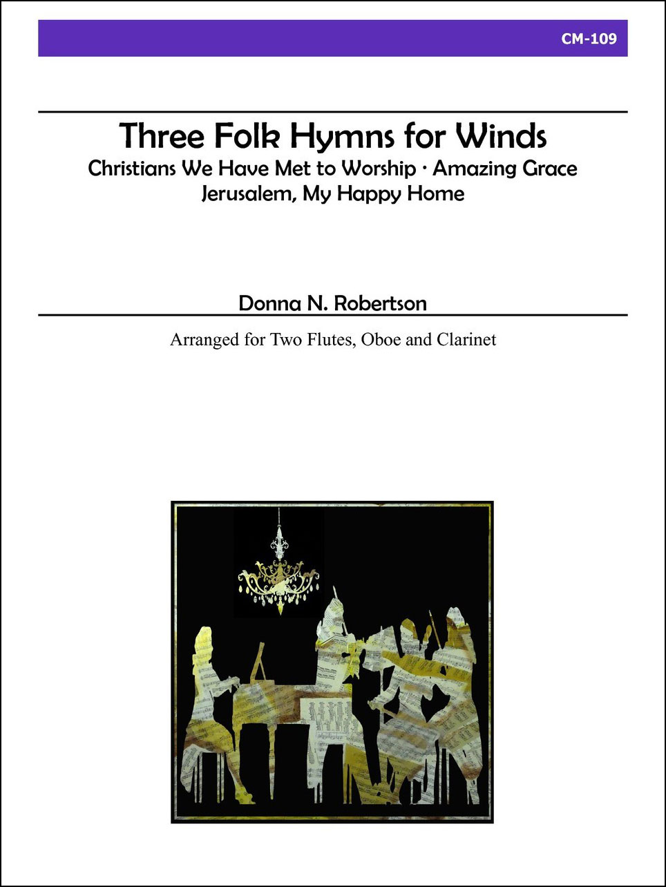 Three Folk Hymns for Winds