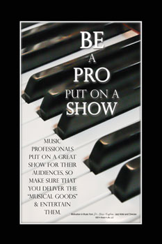Be a Pro Poster
