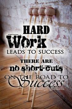 Hard Work Poster