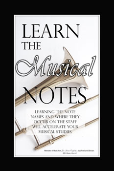 Musical Notes Poster Cover