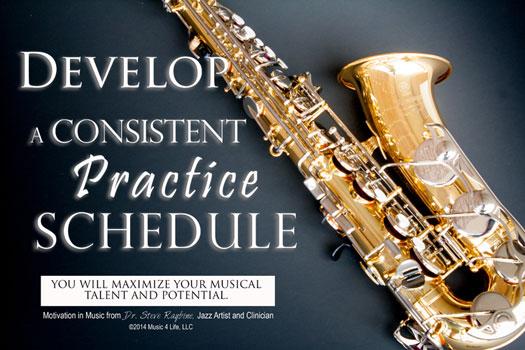 Practice Schedule Poster