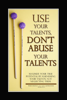 Use Your Talents Poster