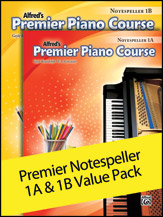 Alfred's Premier Piano Course Notespeller, Levels 1A & 1B