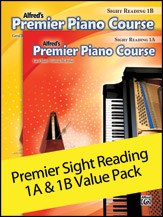 Alfred's Premier Piano Course Sight Reading, Levels 1A & 1B