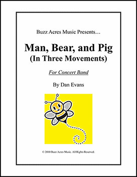 Man, Bear, and Pig