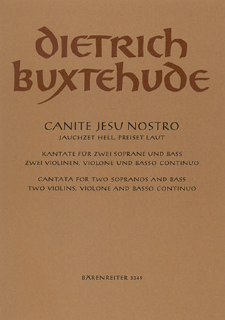 Canite Jesu nostro, BuxWV 11