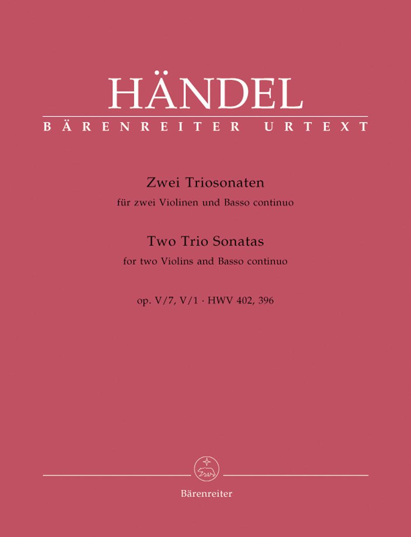 2 Triosonaten aus, Op. 5
