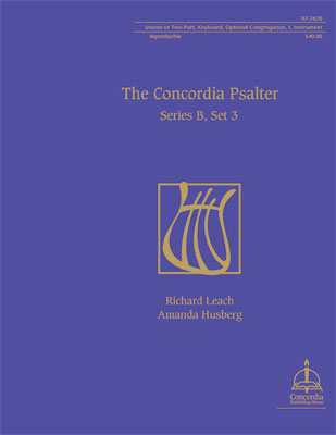 Concordia Psalter Series B Set 3
