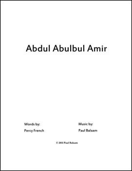 Abdul Abulbul Amir
