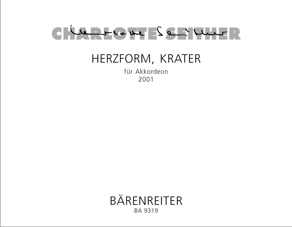 Herzform, Krater for Accordion