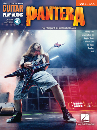 Guitar Play Along No.163 Pantera