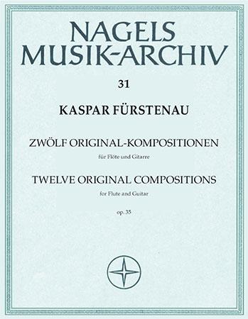 12 Original Kompositionen fur Flote und Gitarre, Op. 35