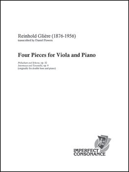 Four Pieces for Viola and Piano