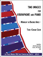 Two Images for Vibraphone and Piano
