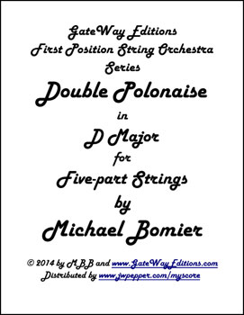 Double Polonaise for String Orchestra