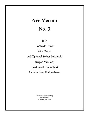 Ave Verum No. 3