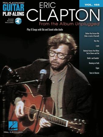 Guitar Play Along Vol. 155 Eric Clapton