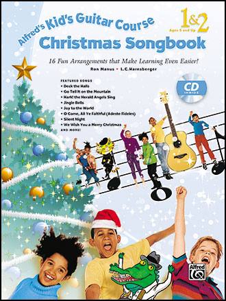 Alfred's Kid's Guitar Course Christmas Songbook