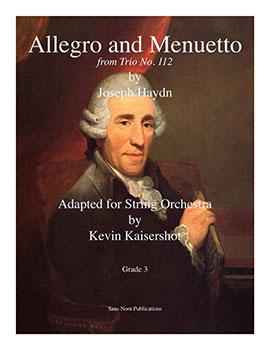 Allegro and Menuetto