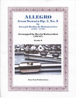 Allegro from Sonata, Op. 7, No. 5