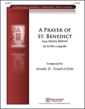 A Prayer of St. Benedict