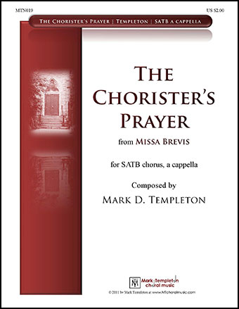The Chorister's Prayer