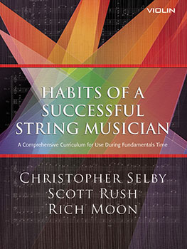 Habits of a Successful String Musician choral sheet music cover