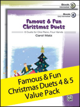 Famous and Fun Christmas Duets, Books 4 & 5
