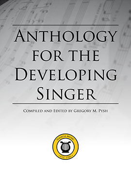 Anthology for the Developing Singer