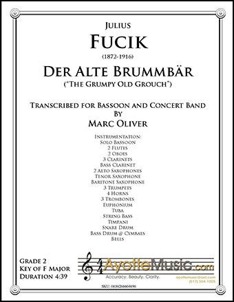 Der Alte Brummbar, Op. 210