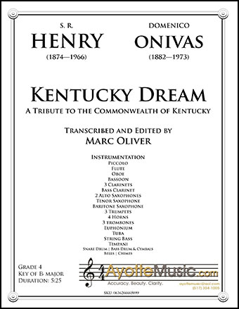 Kentucky Dream: A Tribute to the Commonwealth of Kenturcky