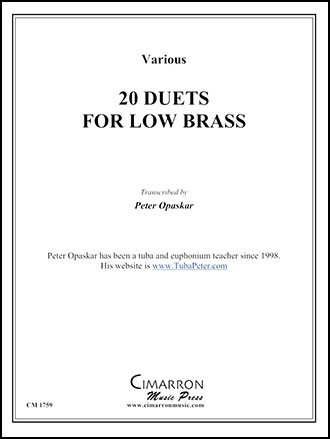 20 Duets for Low Brass