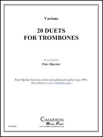20 Trombone Duets