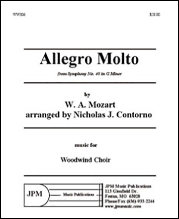 Allegro Molto from Symphony #40