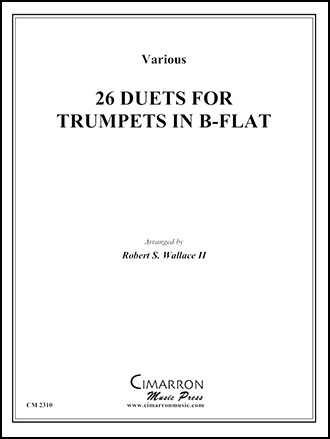 26 Etudes for Trumpet
