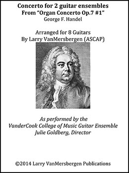 Concerto for Two Guitar Ensembles