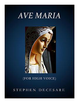 Ave Maria for High Voice